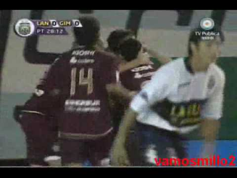 Lanus 2 Gimnasia LP 0 - Torneo Apertura 2009