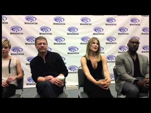 Legends Cast Interview-Sean Bean, Ali Larter, Tina Majorino
