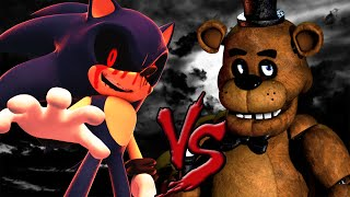 FREDDY FAZBEAR VS SONIC.EXE RAP 2ª RONDA | CarRaxX ft. Mc Energy | CarRaxX [Prod. Kraedt]
