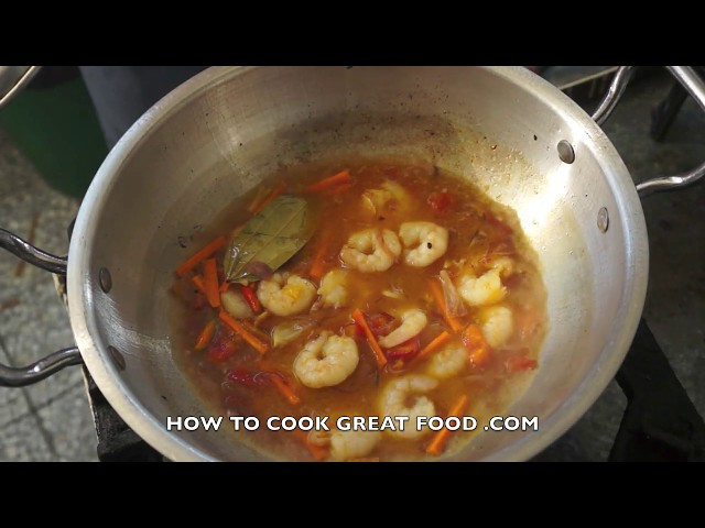 Ginisang Repolyo na Hipon Recipe Tagalog Pinoy Filipino Prawn Shrimp Cabbage