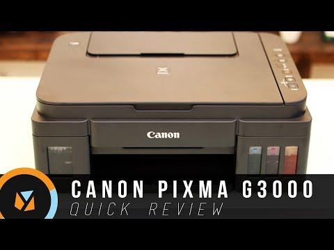 Canon Pixma G3000 Review