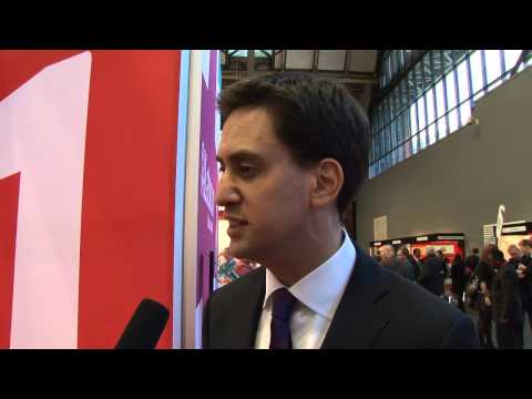 Q&A with Ed Miliband, Leader of the Labour Party