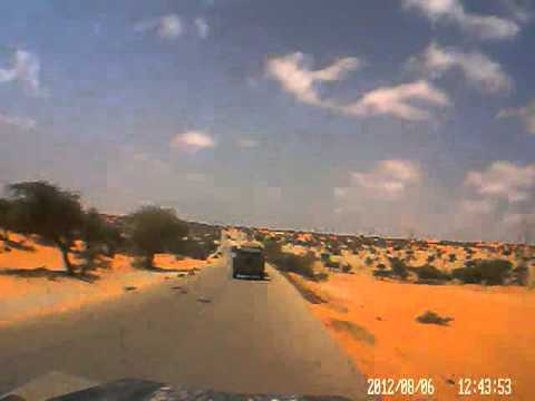Dash cam video of Nouakchott (Mauritania) to St Louis (Senegal) - Part 2