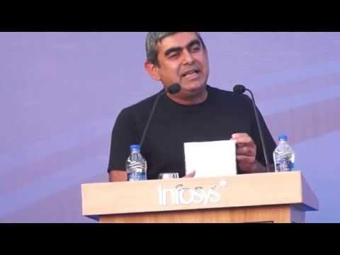 Vishal Sikka's goodbye speech at Infosys Hyderabad DC