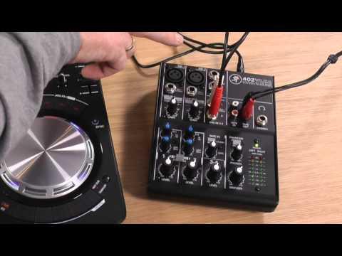 Mackie 402VLZ4 Talkthrough & Uses For DJs