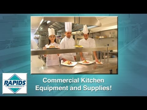 Commercial Kitchen Equipment from RapidsWholesale.com