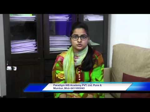 Review Of Paradigm IAS Academy Pvt. Ltd. Pune/mumbai By Neha Sharma Photo Image Pic