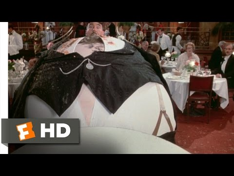 The Meaning of Life (1011) Movie CLIP - Mr. Creosote Blows (...