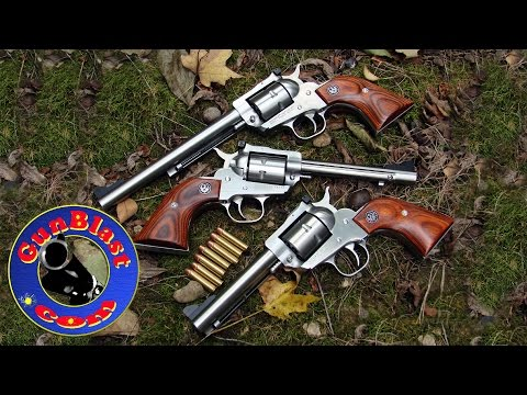 Shooting the Ruger Single-Seven 327 Federal Magnum Single-Action Revolver - Gunblast.com