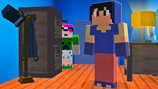 Minecraft: VIRAMOS O VIZINHO! (HELLO NEIGHBOR MULTIPLAYER)