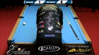Final: 2016 North Island 8-ball Championship - Matt Edwards v Glen Coutts