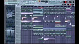 FL Studio Remake: Psy - Gangnam Style (Afrojack Remix) [DiegoMolinams]