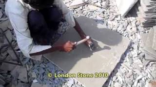 Cutting Indian Limestone