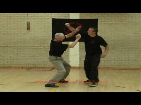 Martin Day Demonstrates Unarmed Combat Actions Image 1