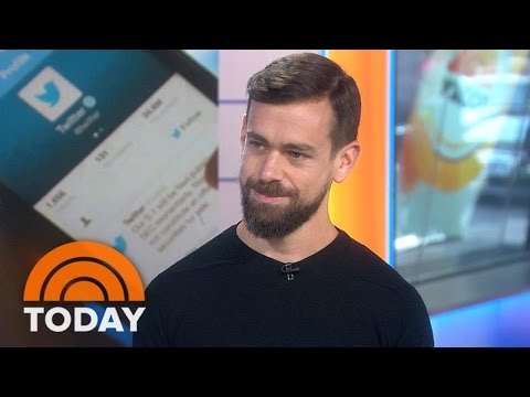 CEO Jack Dorsey: Twitter Absolutely Does Not Censor Users | TODAY