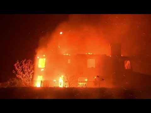 Evacuations And Destruction As Deadly Wildfires Blaze In California | NBC Nightly News