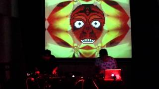 Foex featuring Daniel Muerez junto al Vj Kano Luna - Niu Espai d'Art - Barcelona