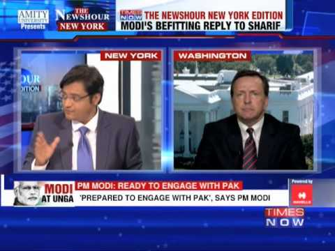 The Newshour Debate from New York: The Narendra Modi at UN analysis - Part 4 (27th September 2014)