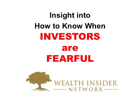 How to Know When Investors are Fearful Wealth Insider Stock Market Investing Made Easy