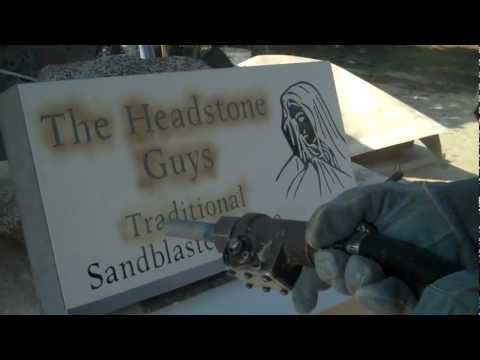 Traditional Sandblasting PERFECT Headstones