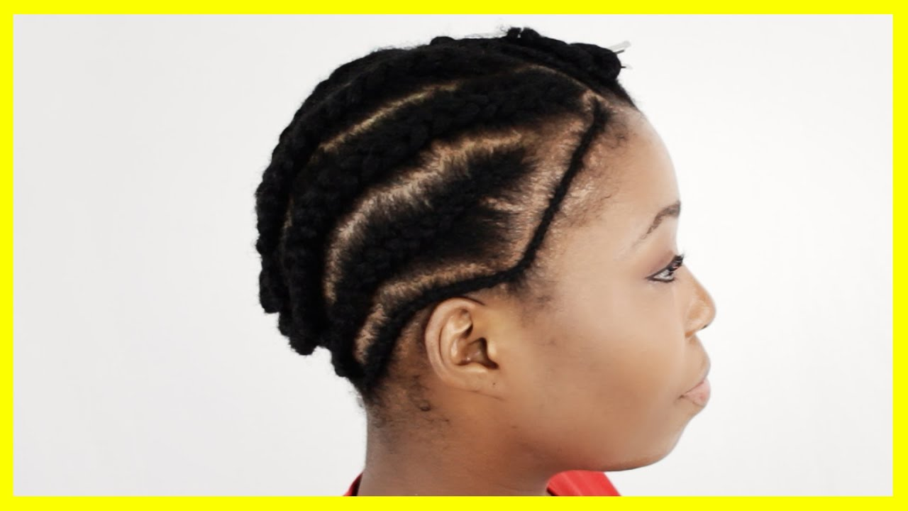 Crochet Hairstyles For Thin Hair : Sew In Braid Pattern THINNING My Hair! Bald Spot on my Crown - YouTube