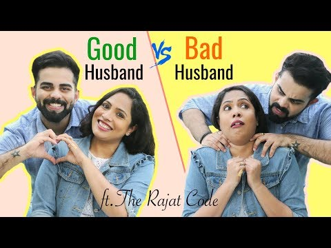 Good Husband vs Bad Husband ft. The Rajat Code | #Relations #Sketch #Fun #ShrutiArjunAnand