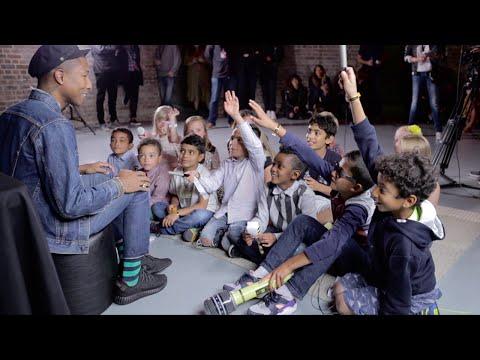 Pharrell Williams - HAPPY Book Press Conference