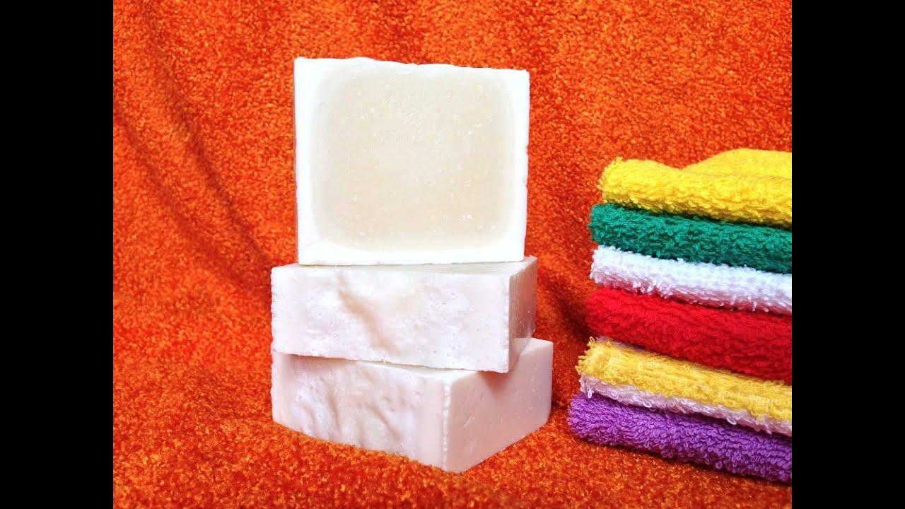 Как сделать натуральное хозяйственное мыло
