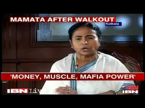 Mamata Banerjee Interview Rajdeep Sardesai part 1of4
