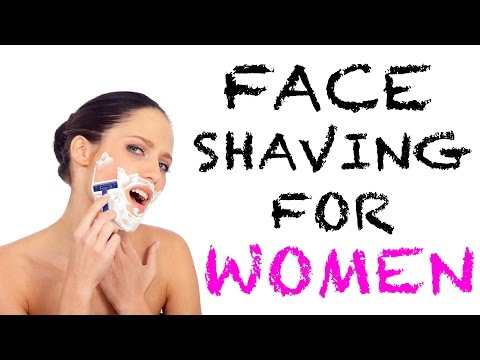 HOW & WHY I SHAVE MY FACE!! Face Shaving for Women