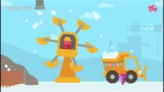game lái xe cần cẩu cầu,máy xúc dọn tuyết# Sago Mini Holiday Trucks054042018