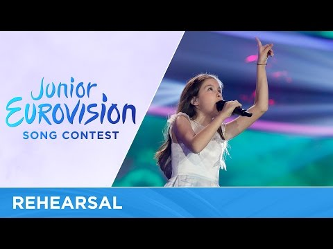 Lidia Ganeva - Magical Day (Bulgaria) First Rehearsal - Junior Eurovision 2016