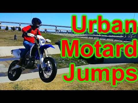 Urban Motard Jumps