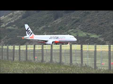 Queenstown Airport New Zealand Jetstar 294
