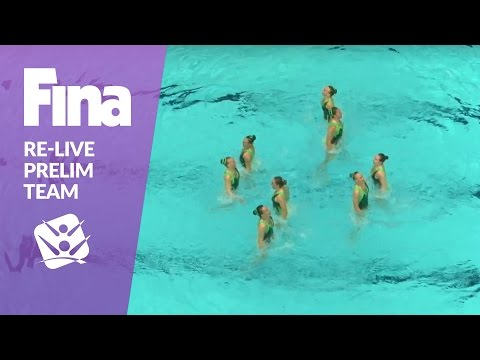 Re-Live - Preliminary Team - FINA World Junior Synchronised Swimming Championships 2016