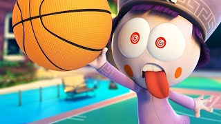 Funny Animated Cartoon | Spookiz | Ultimate Basketball | Cartoon for Children | WildBrain Cartoons