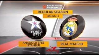 Анадолу Эфес : Реал Мадрид