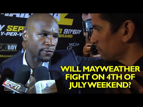 Floyd Mayweather responds to claims he uses dirty elbow tactics