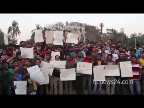 Bangladesh supporters burn umpire's effigy to protest wrong decision