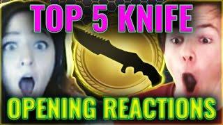 Top 5 CS: GO Knife Opening Reactions Summer 2015