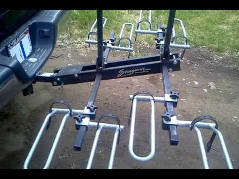 Swagman Xtc 4 Bike Rack Review And Tips Youtube