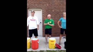 Reading Secondary Principals Ice Bucket Challenge Sept 2014