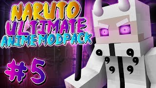 BECOMING THE SAGE OF THE SIX PATHS!!! Minecraft: Naruto Ultimate Anime Modpack - Episode 5