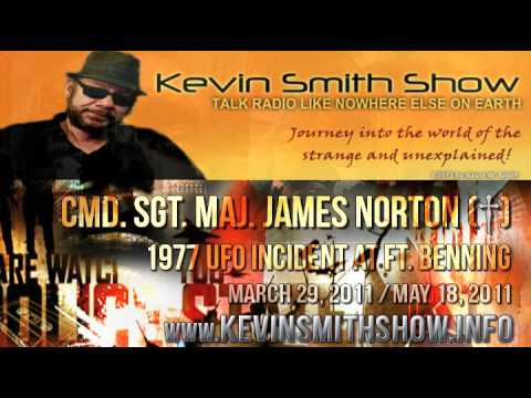 CMD. SGT. MAJ. JAMES NORTON | 1977 UFO INCIDENT AT FT. BENNING