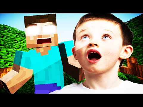 MINECRAFT TROLLING: Cheater Kid Gets TROLLED by Herobrine Minecraft Trolling MINECRAFT