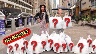 NO BUDGET IN THE WORLD'S LARGEST STORE!! | Familia Diamond