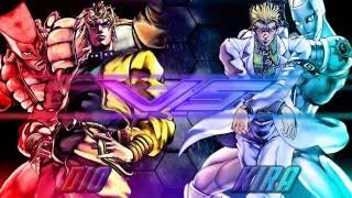 M.U.G.E.N DIO vs kira yoshikage