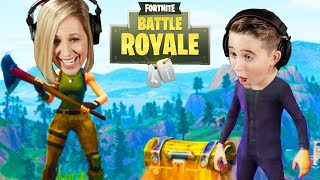 """Kids Teach Their Parents How To Play """"Fortnite"""""""