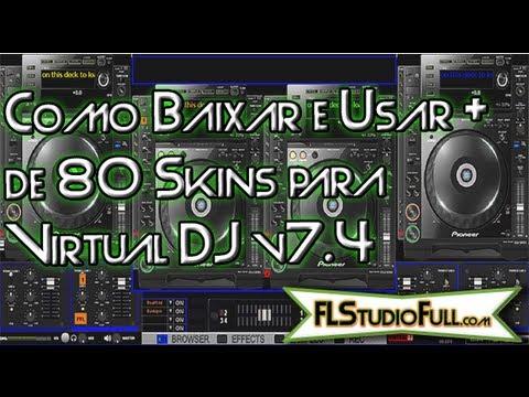 Como Baixar e Usar Mais de 80 Skins para Virtual DJ v7.4