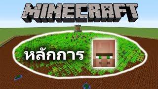 หลักการของหมู่บ้าน NPC Villager - Minecraft